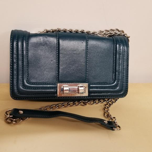 87f709e6 ARMANI EXCHANGE CHAIN STRAP SHOULDER BAG